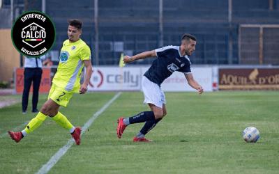 Rubén Palomeque: «Lo peor del fútbol italiano es encadenar cesión tras cesión»