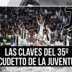 Las claves del Scudetto de la Juventus