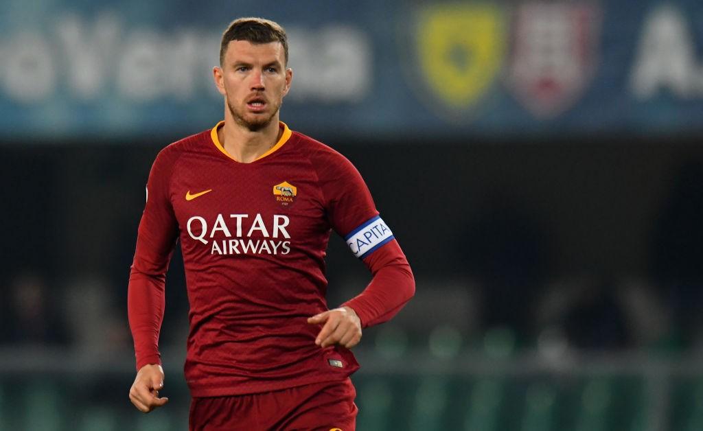 La Roma confirma a Dzeko: «Es nuestro capitán»