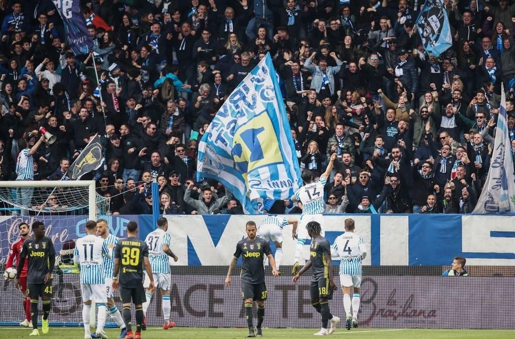 La SPAL retrasa el Scudetto de la Juventus