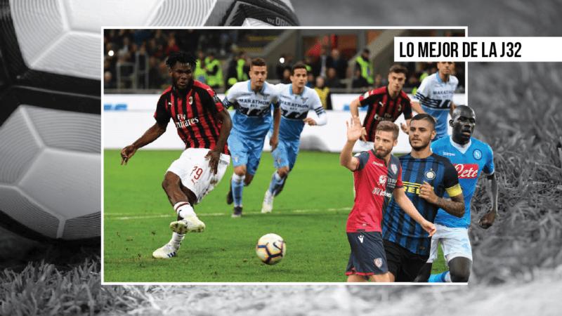 El Milan vuelve a ganar, el Chievo desciende… I Lo mejor de la jornada 32 en la Serie A