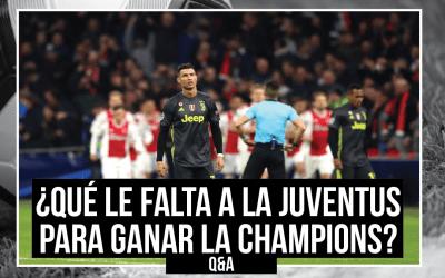¿Qué le falta a la Juventus para ganar la Champions League?