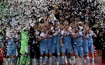 Milinkovic-Savic y Correa dan a la Lazio su séptima Coppa Italia