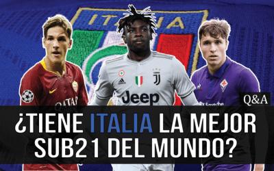 ¿Tiene Italia la mejor selección sub21 del mundo?