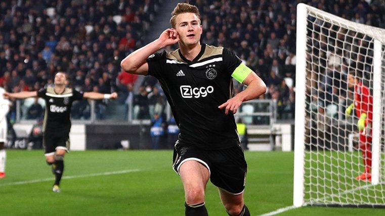 Cumbre Juventus-Ajax: Matthijs De Ligt, muy cerca de ser bianconero