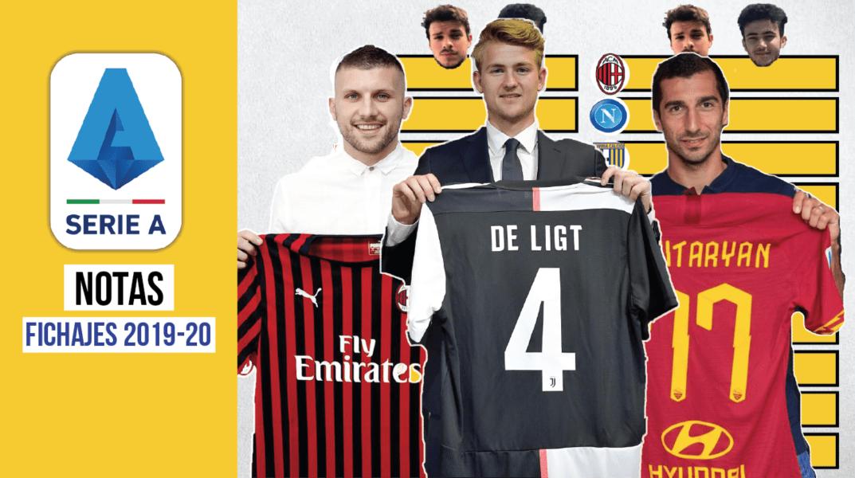 ¿Qué equipo ha fichado mejor en la Serie A 2019-20?