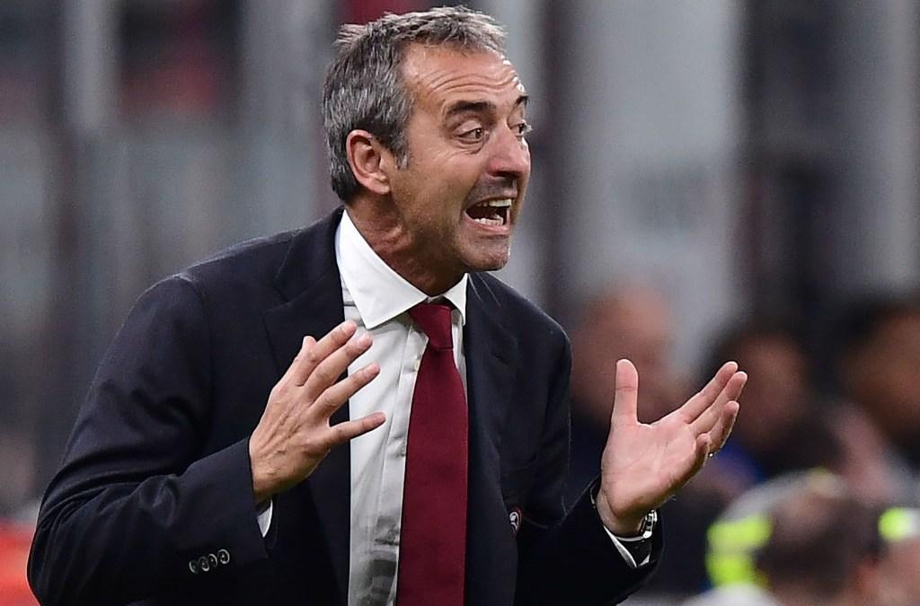 Giampaolo: «La diferencia entre el Milan y el Inter es la experiencia»