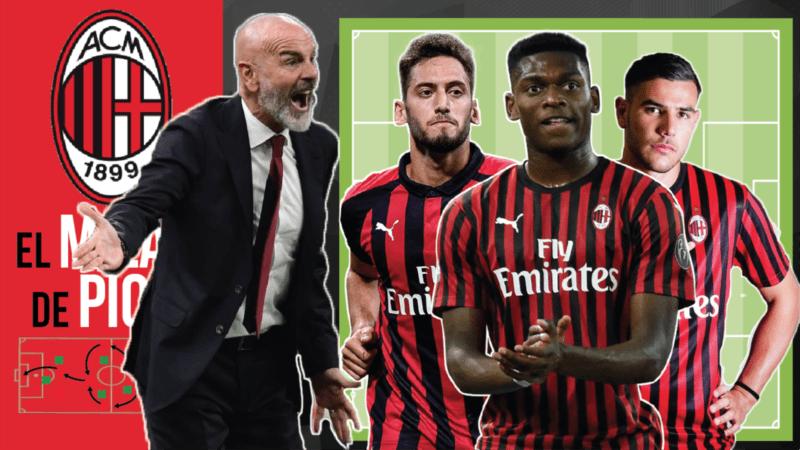 Análisis táctico I La evolución del Milan de Pioli