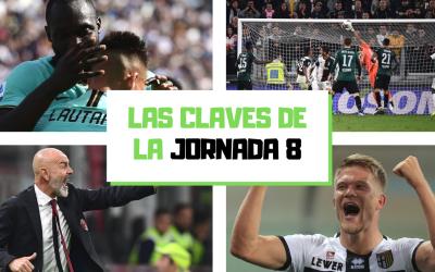 El análisis de la jornada 8 de la Serie A 2019-20