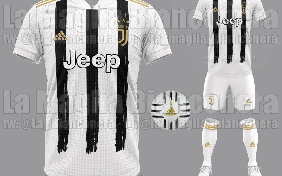 Se filtra la posible camiseta de la Juventus para la 2020/21