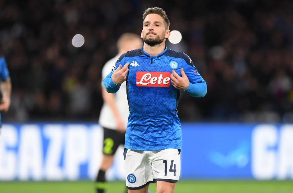 El Napoli recibe una oferta del Chelsea por Mertens