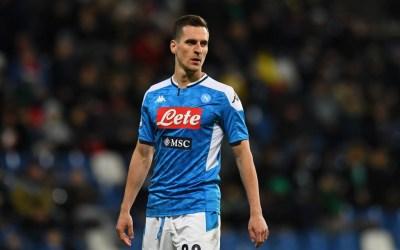 Milik: «Queremos mejorar en Serie A y ganar la Coppa»