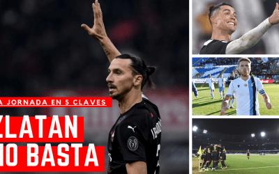 Lo mejor de la jornada: Ibrahimovic debuta, el Milan no gana