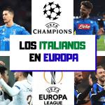 Italianos en Europa: Honor al Napoli, la Juventus se hunde