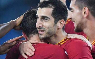 Mkhitaryan: «Encaramos un mes decisivo en la Roma»