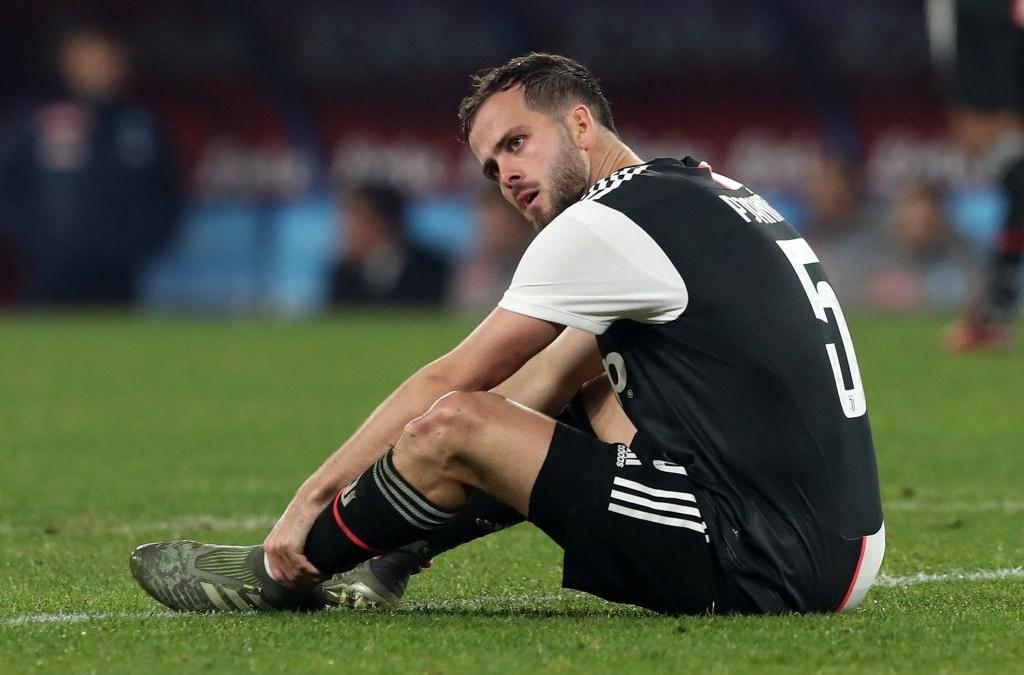 Miralem Pjanic evita una lesión grave