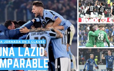 Lo mejor de la jornada: Una Lazio imparable, Dybala y Mertens