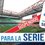 La Serie A se suspende: ¿Qué pasará en el futuro en Italia?