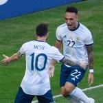 Scaloni: «Si Lautaro juega con Messi, será bueno para Argentina»