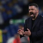 Gattuso tras el pase del Napoli a la final: «Mis jugadores lo han dado todo»