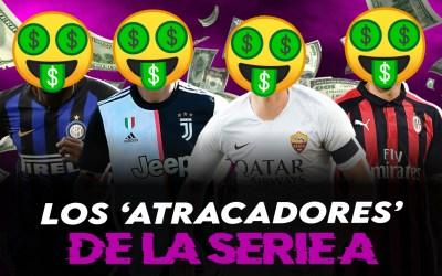 Los 'atracadores' de la Serie A: ¡los sueldos más locos!