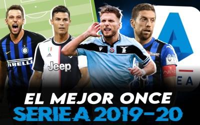 El mejor once de la Serie A 2019/20