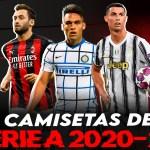 Así son todas las camisetas de la Serie A 2020/21