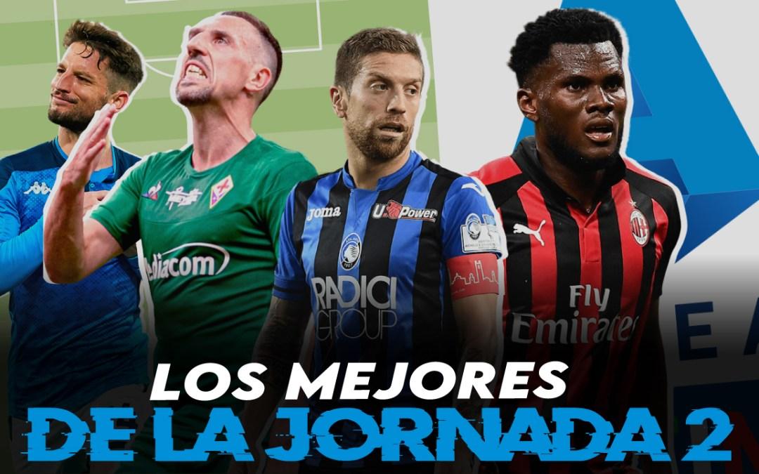 Lo mejor de la jornada 2 de la Serie A 2020/21