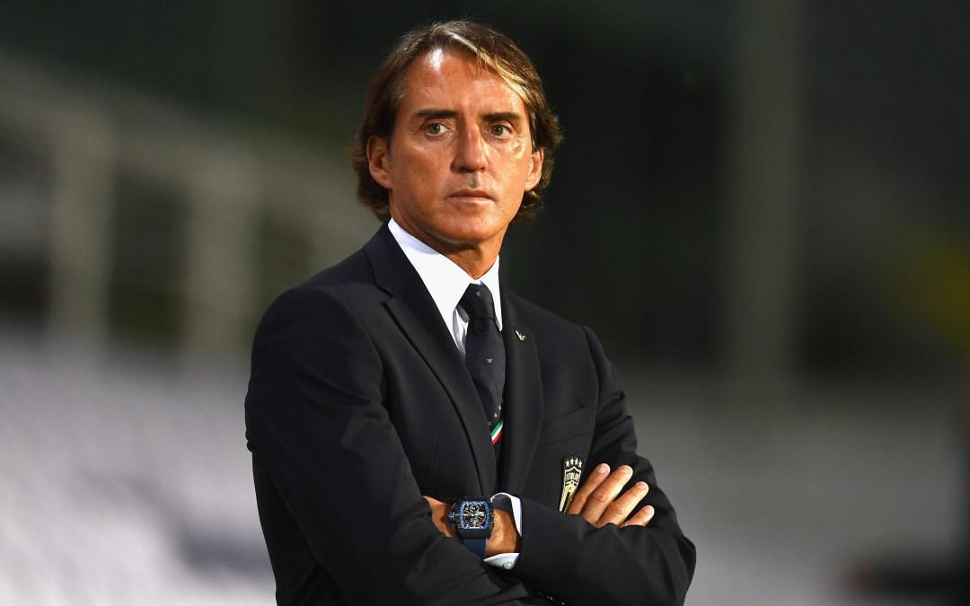 Mancini habla tras la goleada de Italia (6-0) a Moldavia