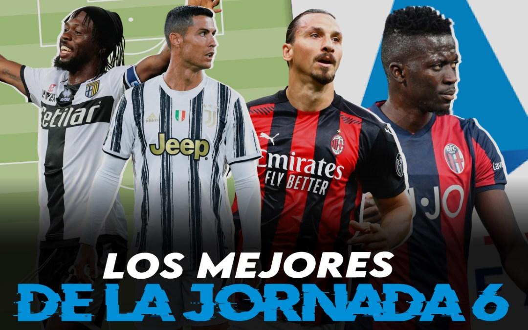Lo mejor de la jornada 6 en la Serie A 2020/21