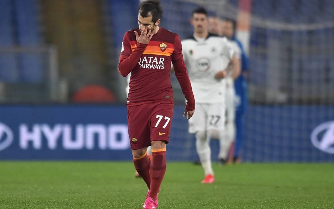 La Roma comete alineación indebida en Coppa Italia y cae eliminada