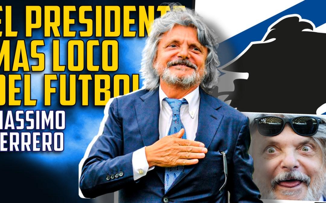 El presidente más 'loco' del fútbol: Massimo Ferrero