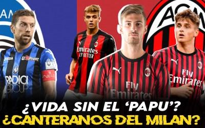 ¿Hay futuro en la cantera del Milan? ¿Qué pasa con el Papu Gómez?