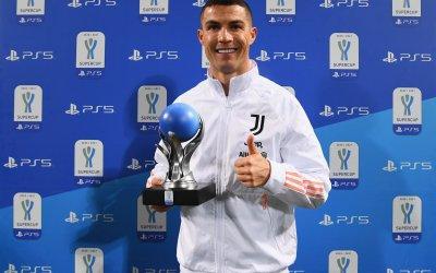 Cristiano Ronaldo, 'MVP de la Supercoppa Italia'