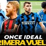 El once ideal de la Serie A en la primera vuelta