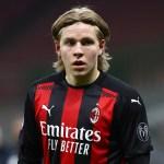 Hauge: «Estoy muy feliz por haber elegido el Milan»