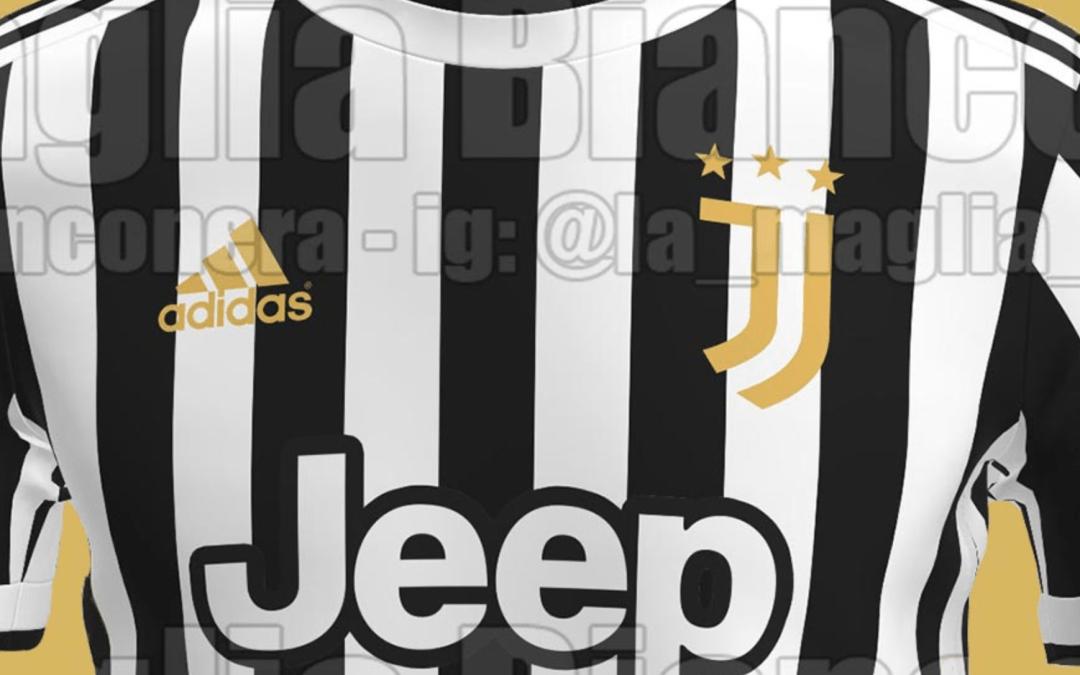 Se filtran detalles de la nueva camiseta de la Juventus