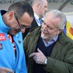 Aurelio De Laurentiis lo tiene claro: si el Napoli juega Champions, llega Sarri