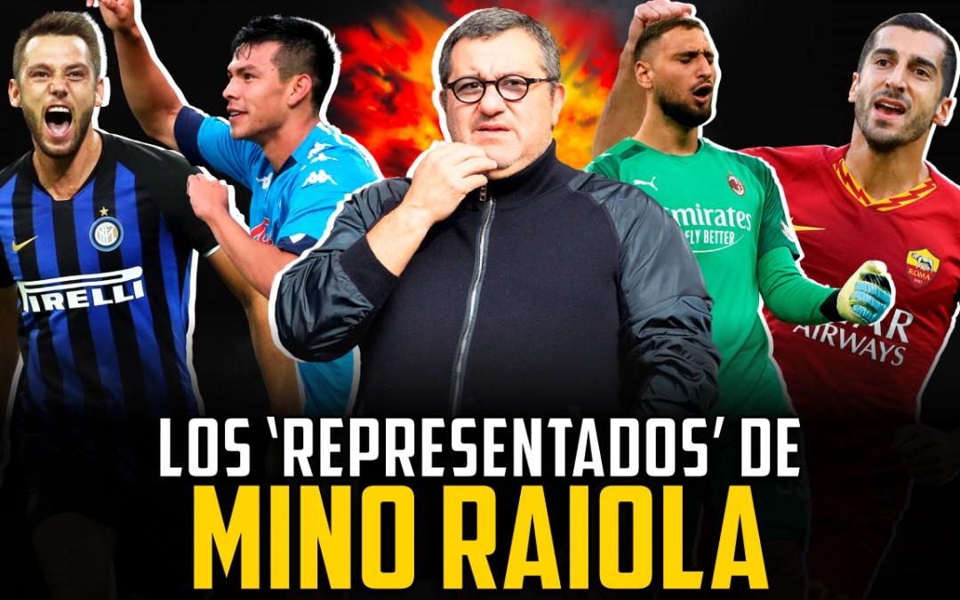 ¿Controla Mino Raiola el fútbol italiano…?