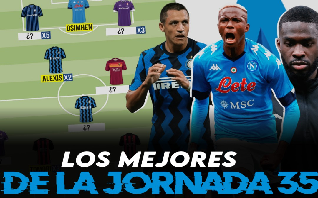 Lo mejor de la jornada 35 de la Serie A 2020/21