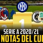 Las notas de la Serie A 2020/21