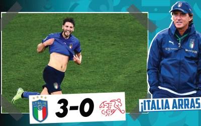 El análisis del Italia 3-0 Suiza: ¡clasificados a octavos de final!