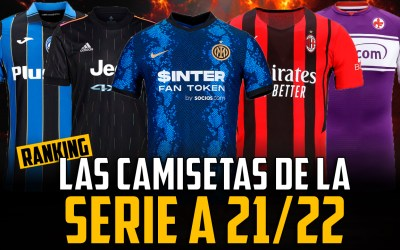 Todas las camisetas de la Serie A 2021/22
