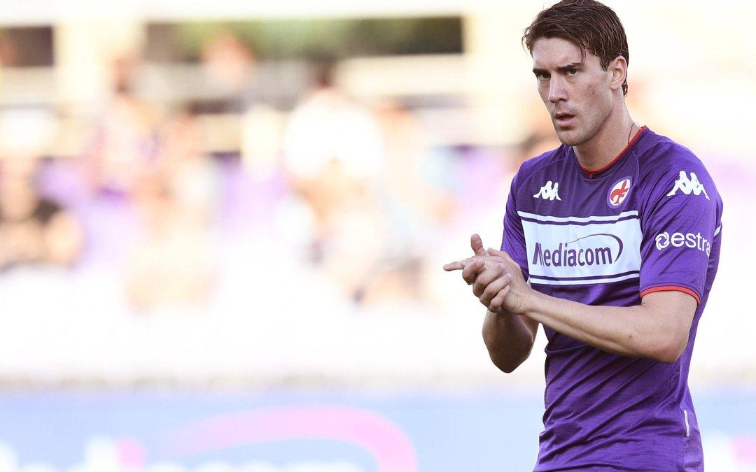 La Fiorentina es clara: «Vlahovic se queda»