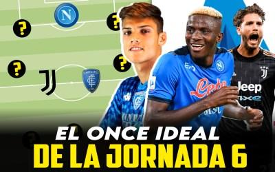 El once ideal de la jornada 6 en la Serie A