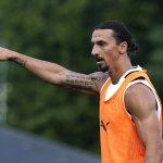 Zlatan Ibrahimovic vuelve a entrenar con el Milan