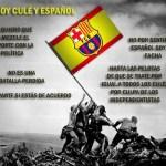 Por si no lo sabías, yo soy Culé y Español.