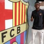 Ousmane Dembélé ya está en Barcelona