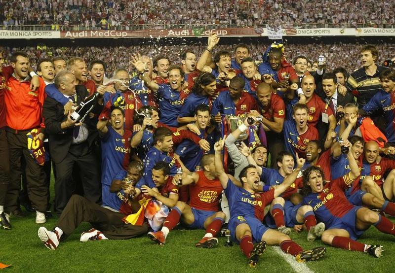 El Barça, a por el octavo doblete de la historia
