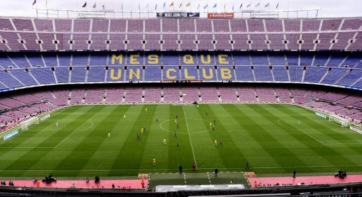 El Camp Nou podría acoger partidos sin público hasta febrero.